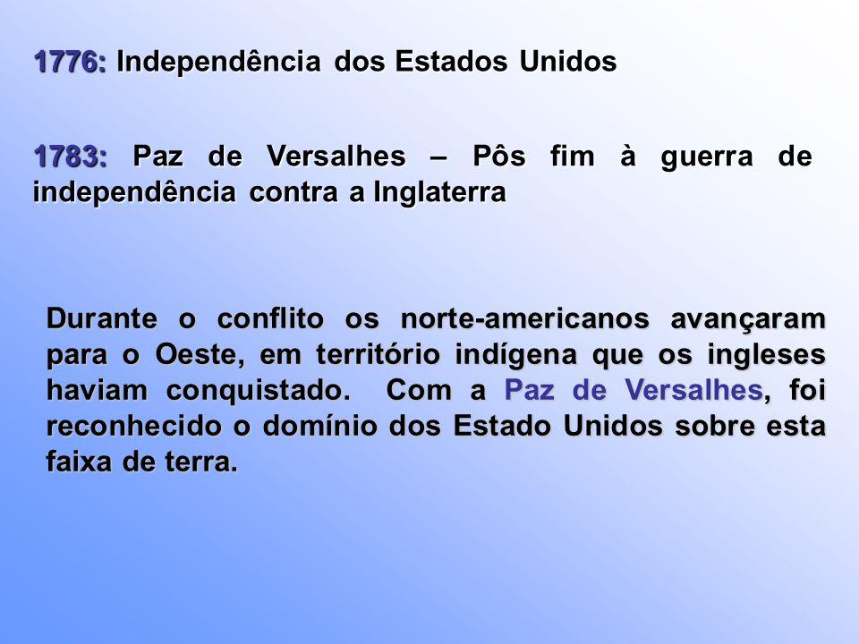 1776: Independência dos Estados Unidos