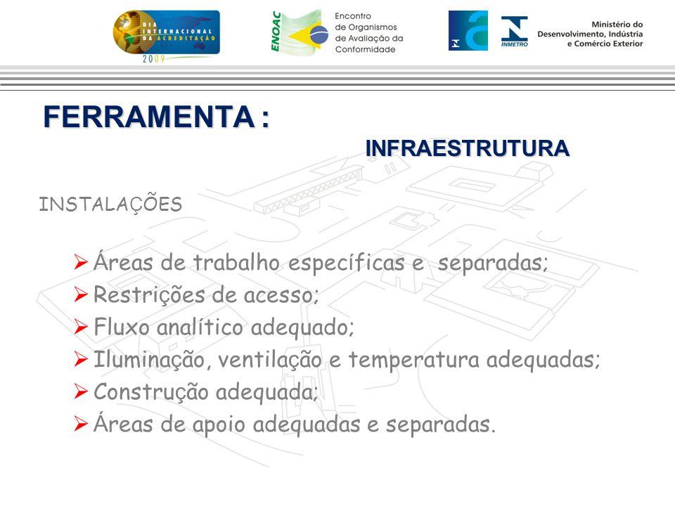 FERRAMENTA : INFRAESTRUTURA