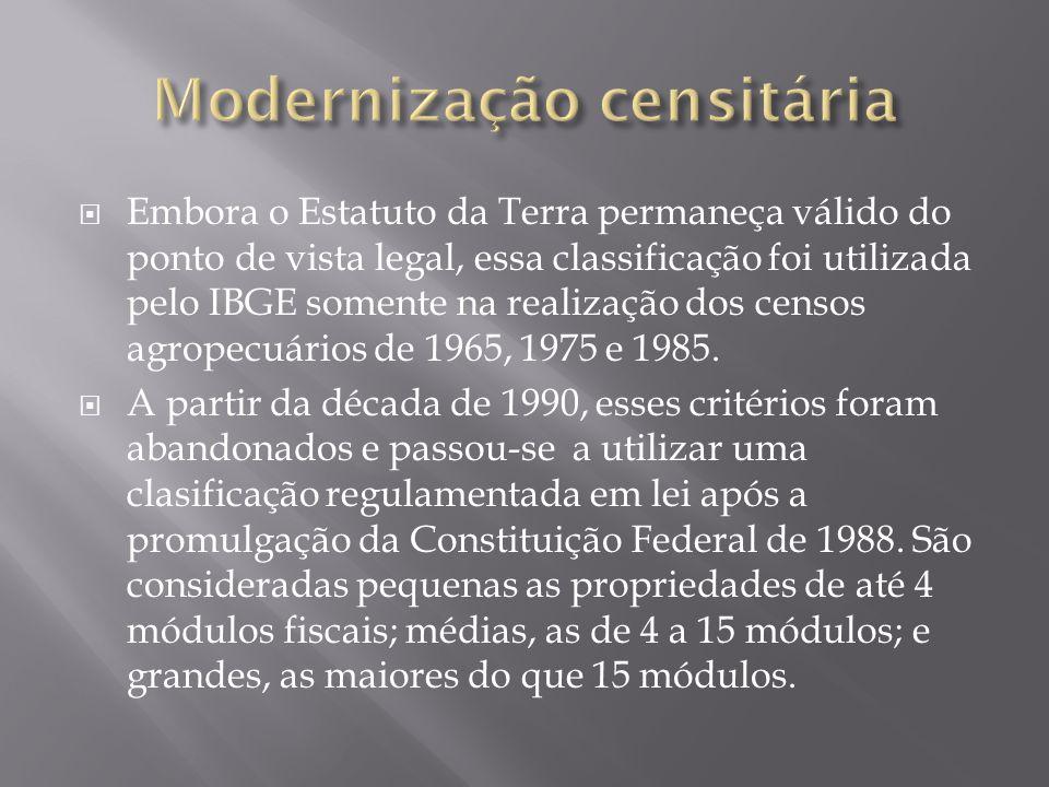 Modernização censitária