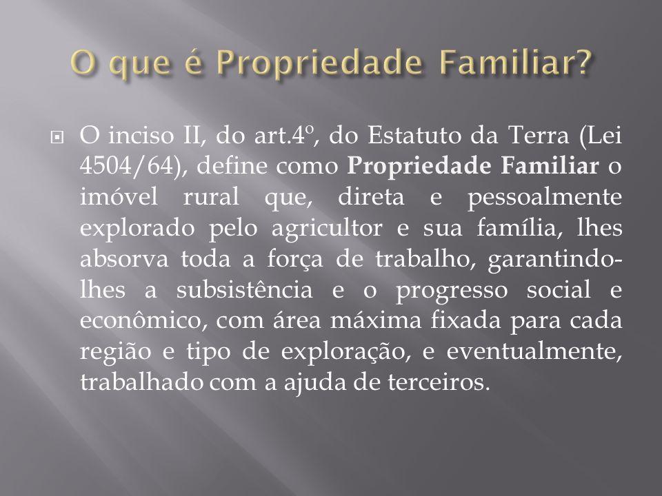 O que é Propriedade Familiar