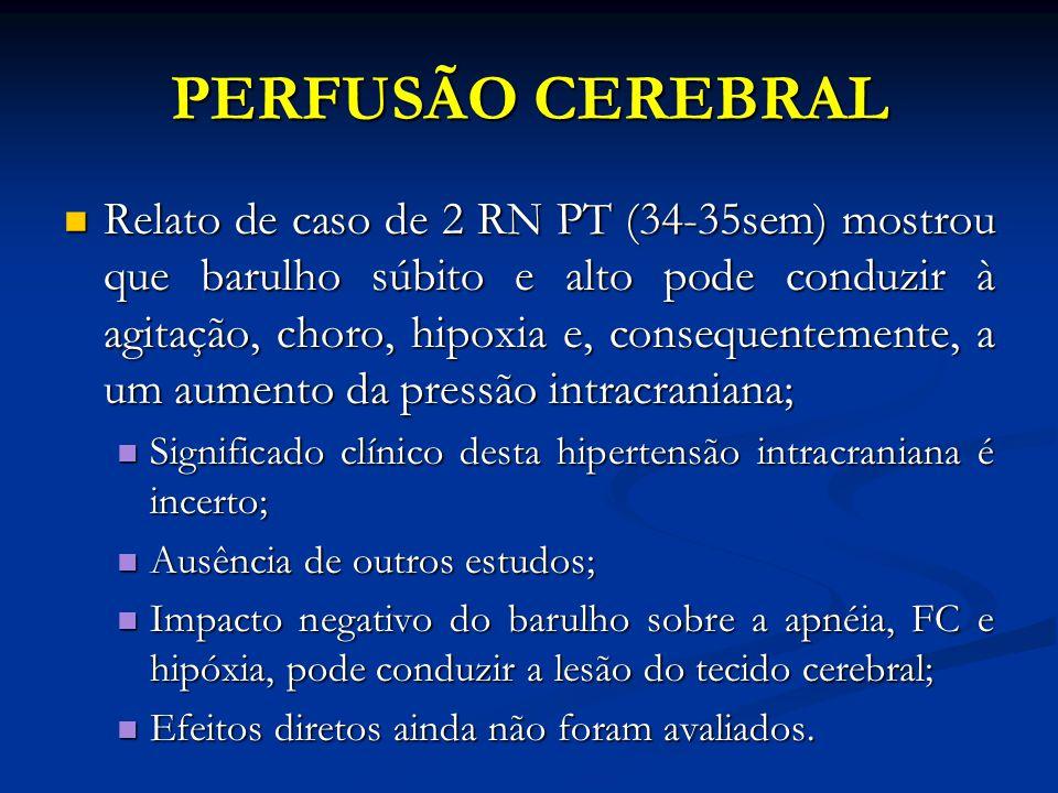 PERFUSÃO CEREBRAL