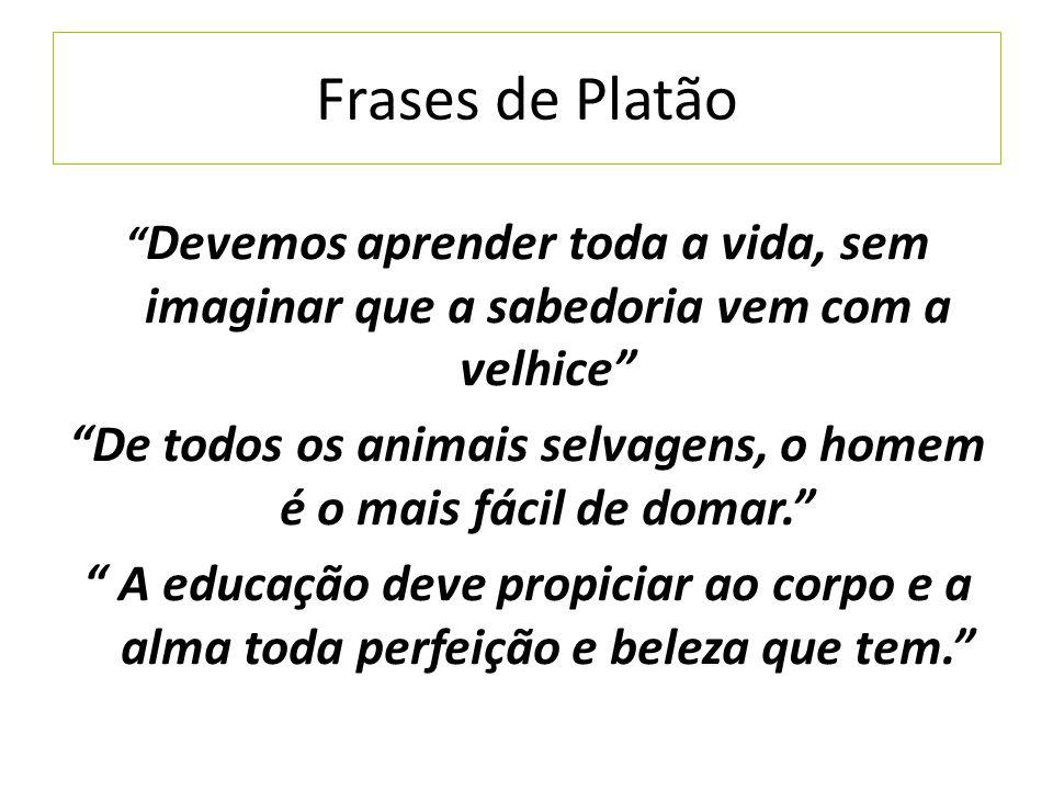 Well-known Os pilares do conhecimento Ocidental Sócrates, Platão e  PE11