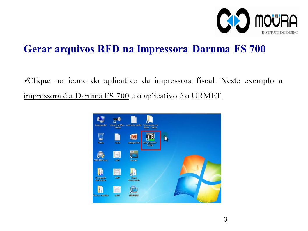 Gerar arquivos RFD na Impressora Daruma FS 700