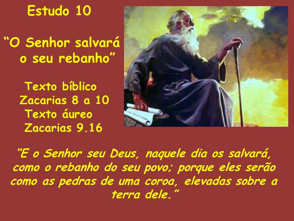 Estudo 10 O Senhor salvará o seu rebanho