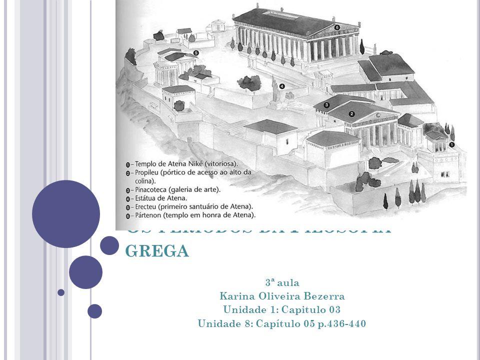 Os períodos da Filosofia grega