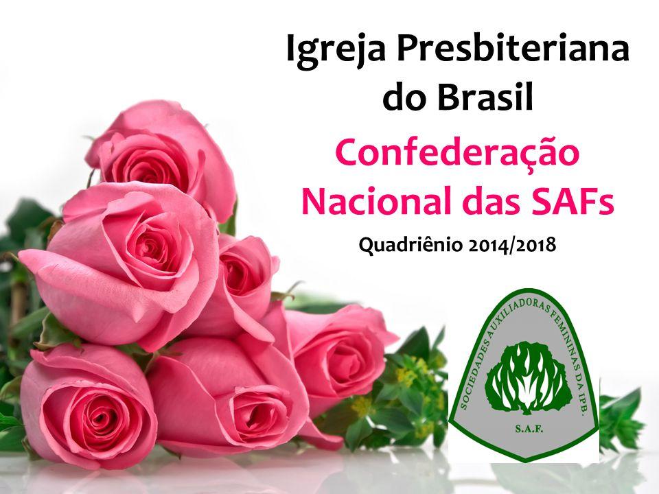 Igreja Presbiteriana do Brasil Confederação Nacional das SAFs