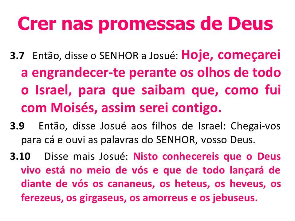 Crer nas promessas de Deus