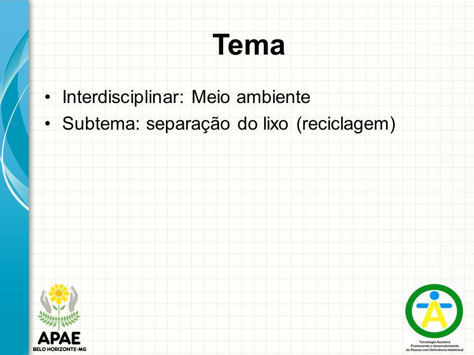 Tema Interdisciplinar: Meio ambiente