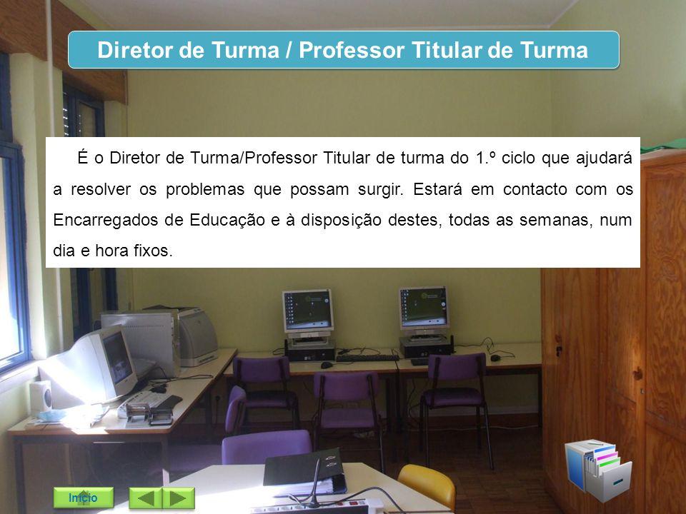 Diretor de Turma / Professor Titular de Turma