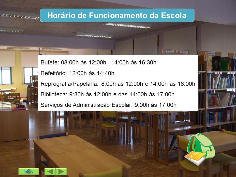 Horário de Funcionamento da Escola