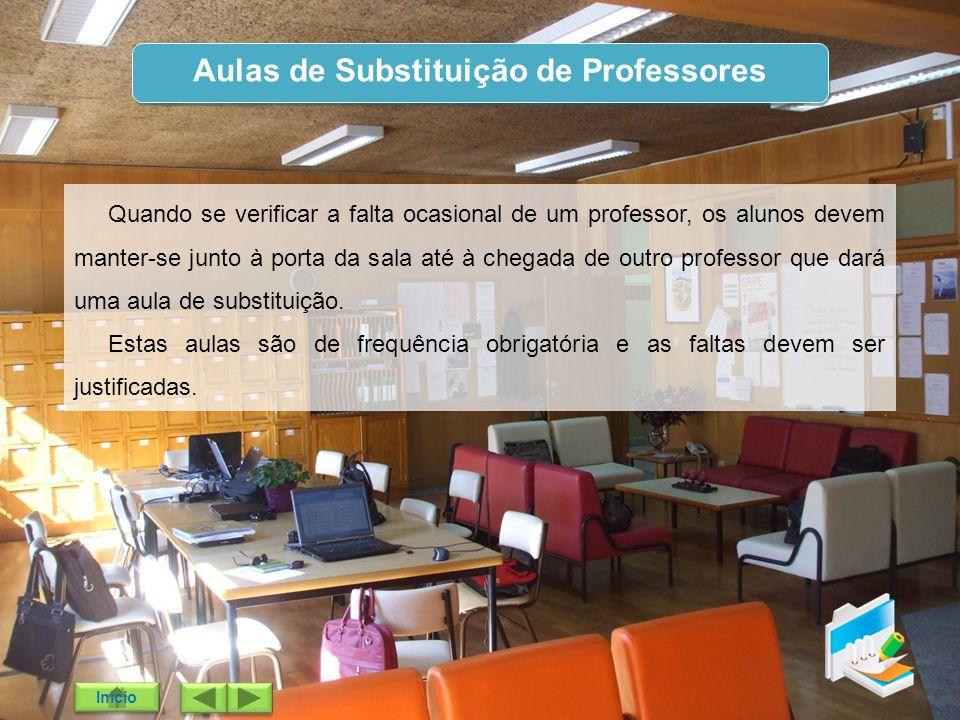 Aulas de Substituição de Professores