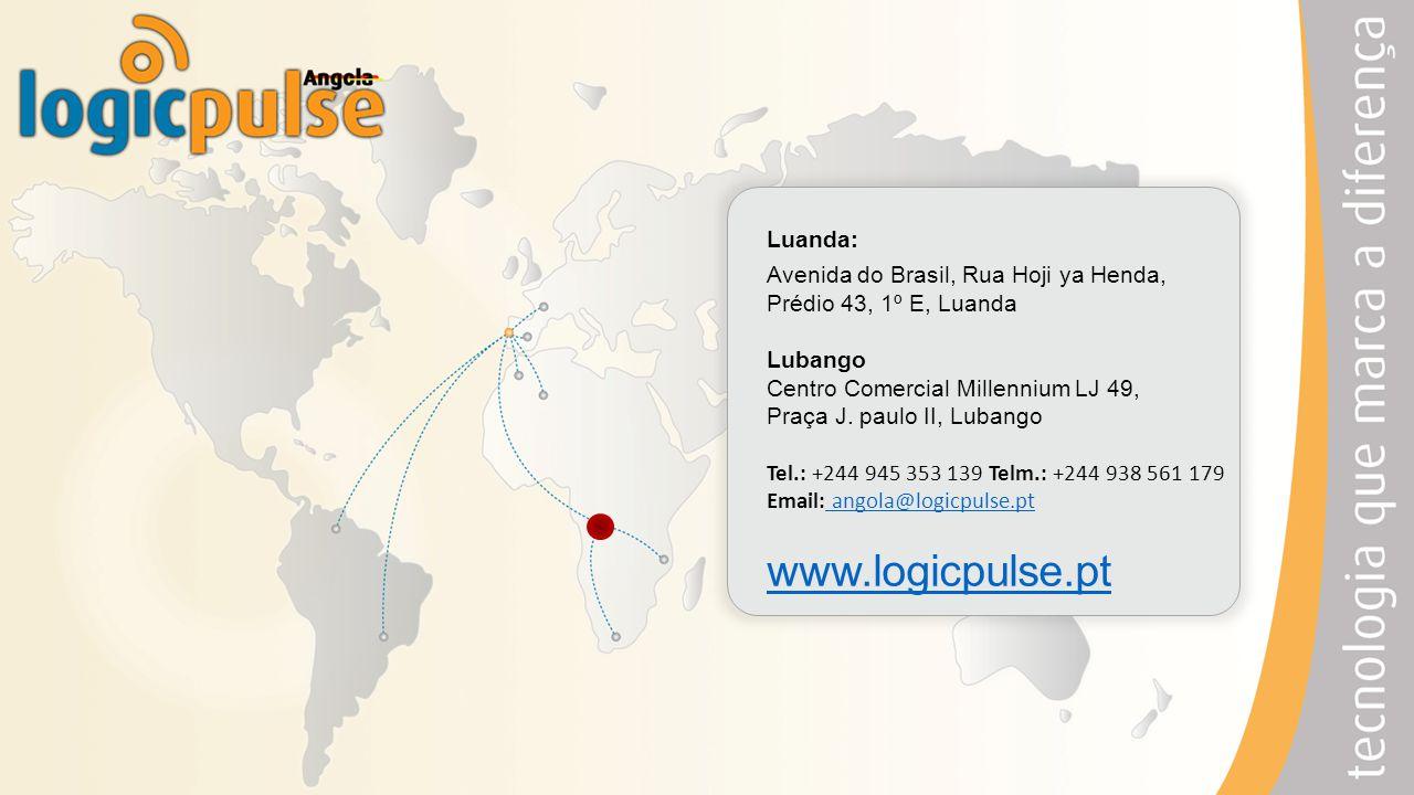 www.logicpulse.pt Luanda: