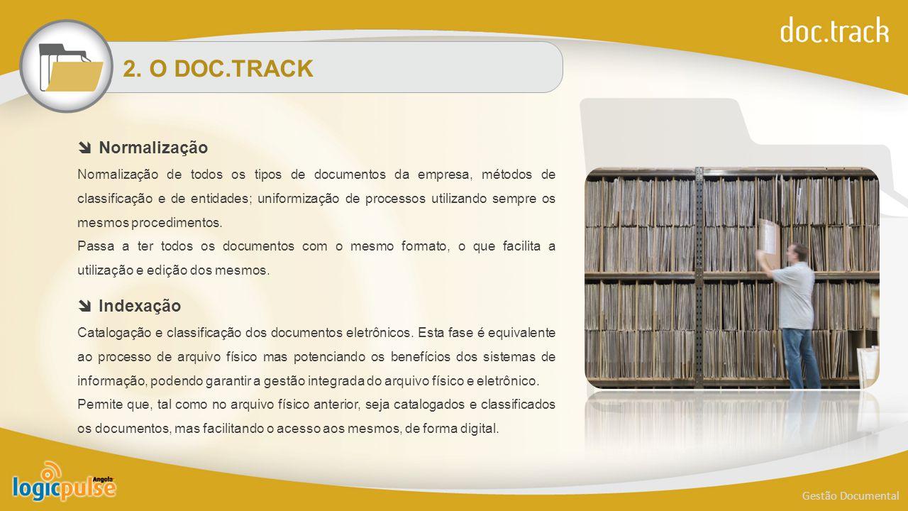 2. O DOC.TRACK Normalização Indexação