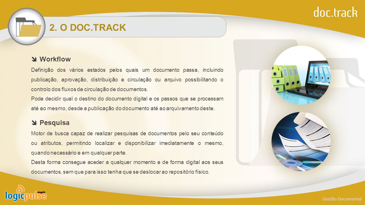 2. O DOC.TRACK Workflow Pesquisa