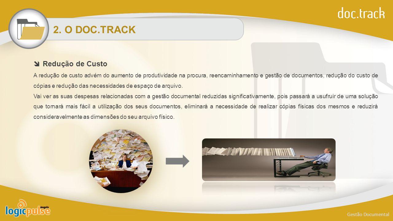 2. O DOC.TRACK Redução de Custo