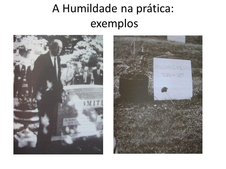 A Humildade na prática: exemplos