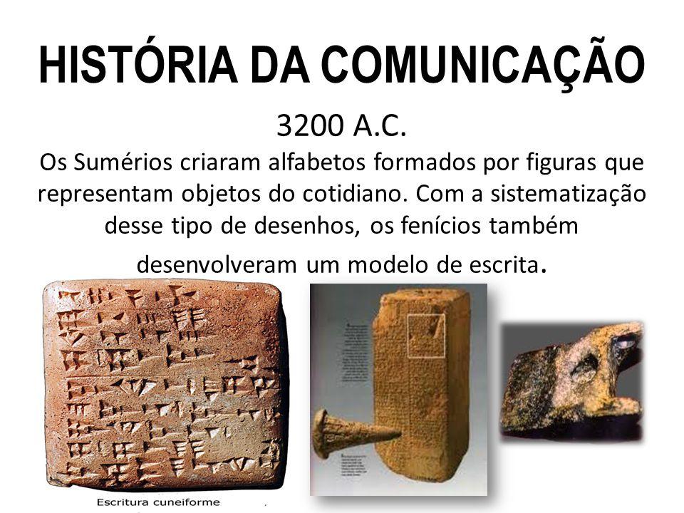 HISTÓRIA DA COMUNICAÇÃO