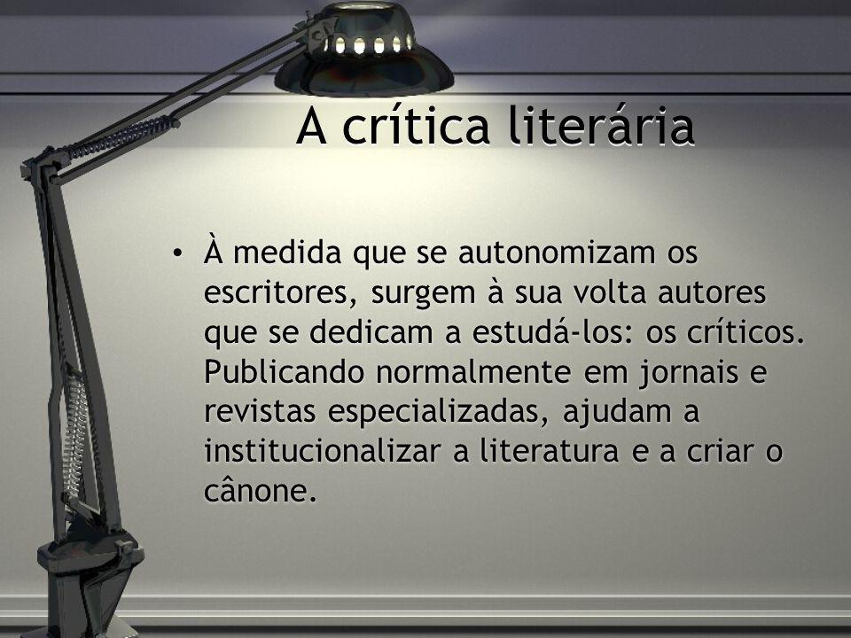 A crítica literária