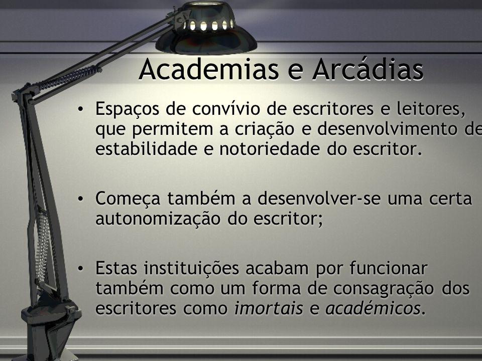 Academias e Arcádias