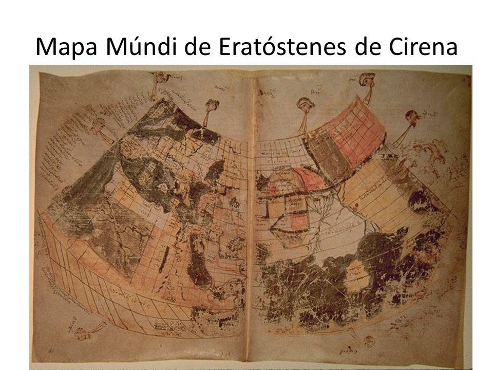 Mapa Múndi de Eratóstenes de Cirena