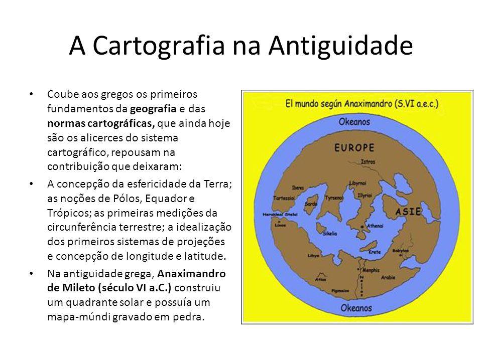 A Cartografia na Antiguidade