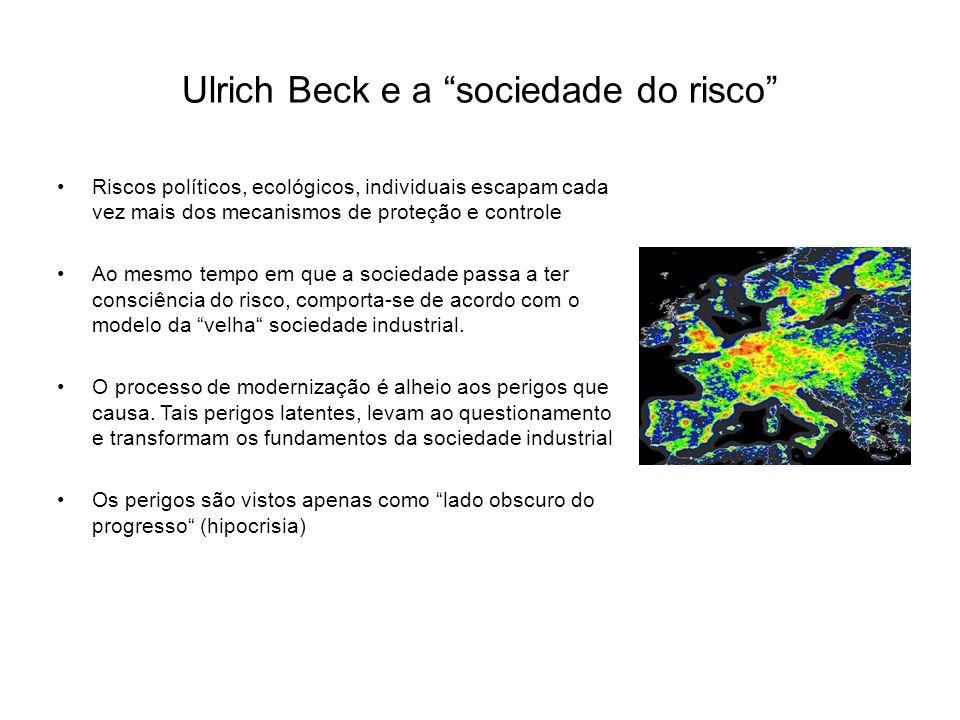 Ulrich Beck e a sociedade do risco