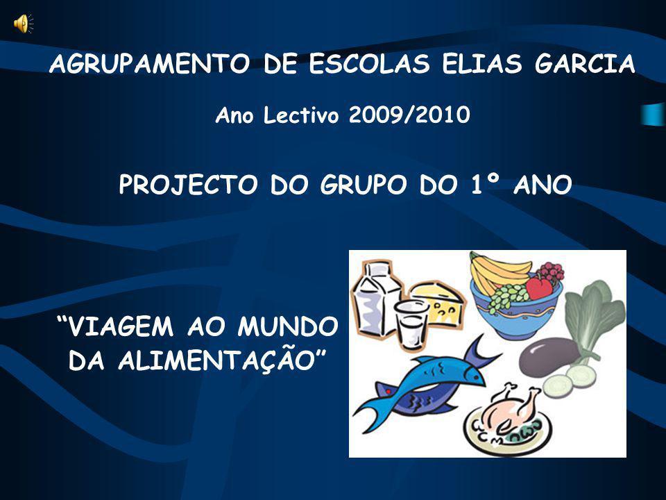 AGRUPAMENTO DE ESCOLAS ELIAS GARCIA Ano Lectivo 2009/2010