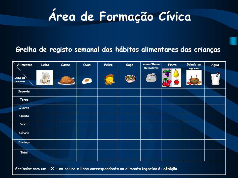 Área de Formação Cívica