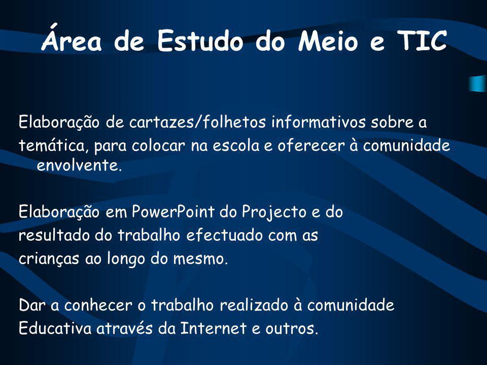 Área de Estudo do Meio e TIC