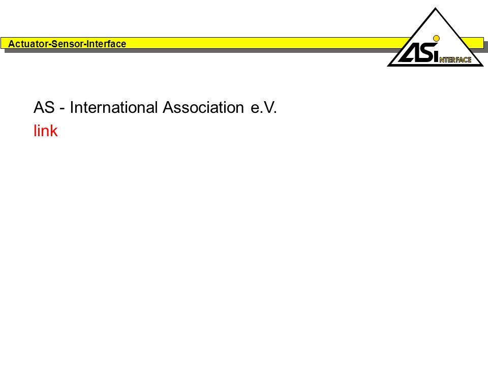 AS - International Association e.V. link