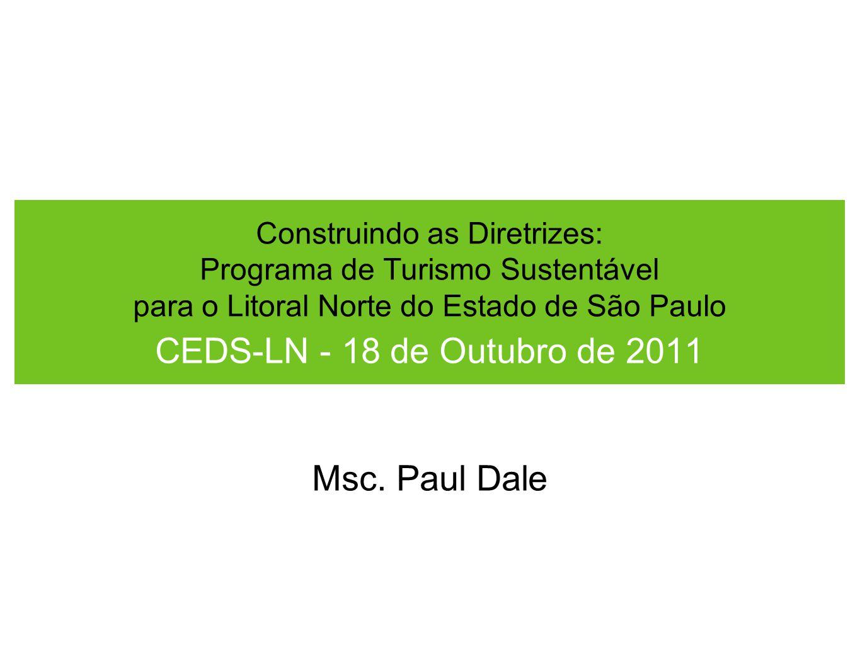 CEDS-LN - 18 de Outubro de 2011 Msc. Paul Dale