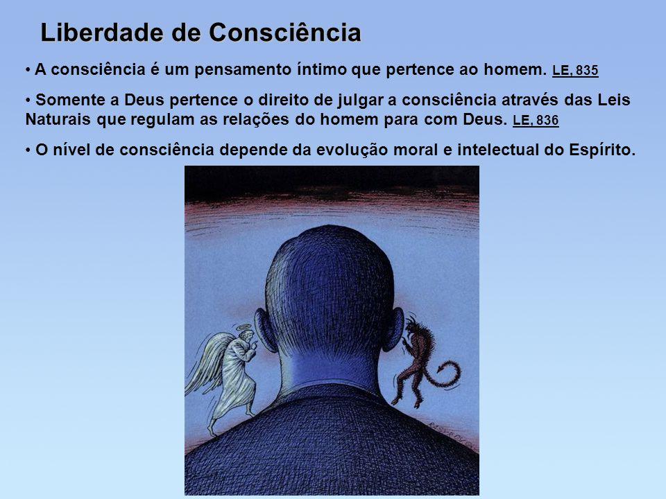 Liberdade de Consciência
