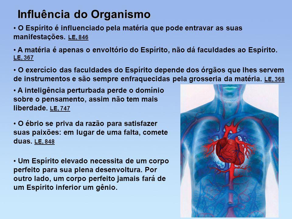Influência do Organismo