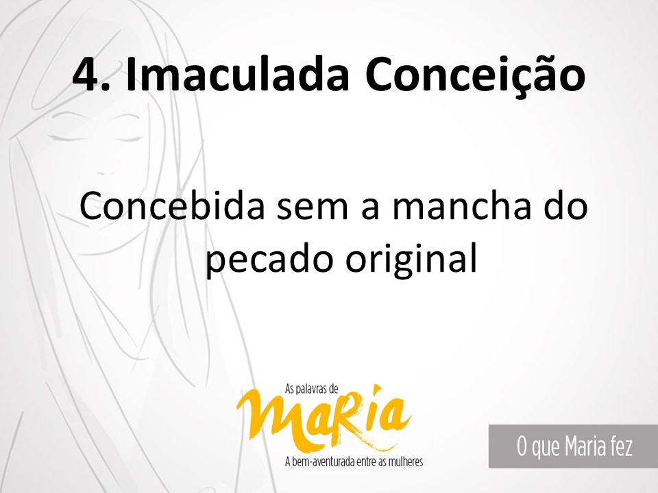 Concebida sem a mancha do pecado original