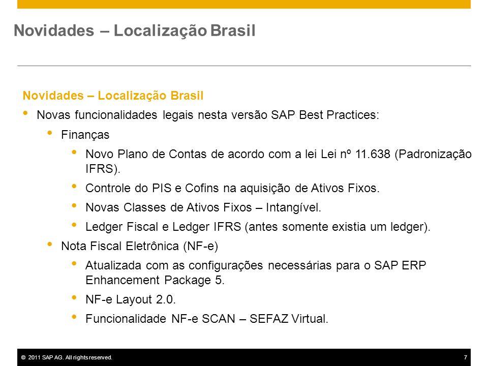 Novidades – Localização Brasil