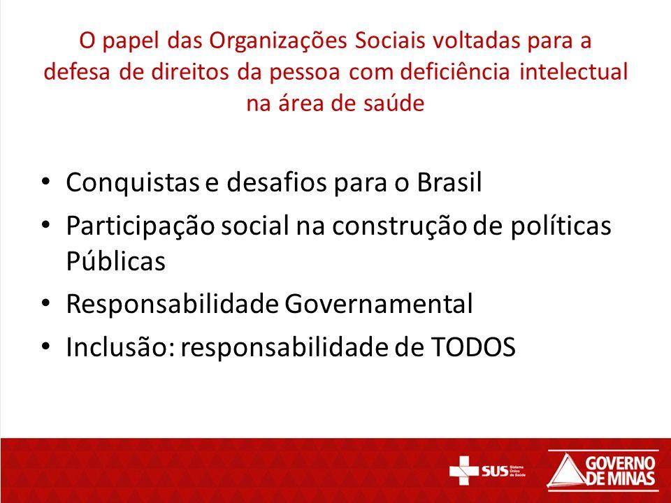 Conquistas e desafios para o Brasil