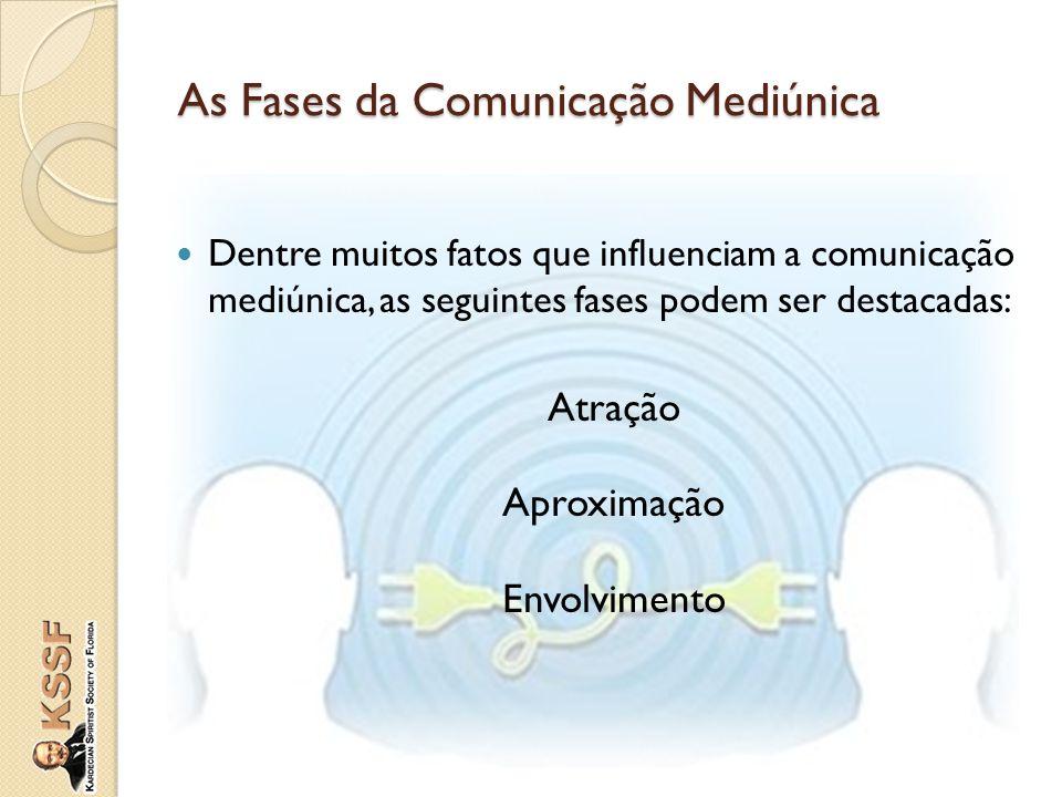 As Fases da Comunicação Mediúnica