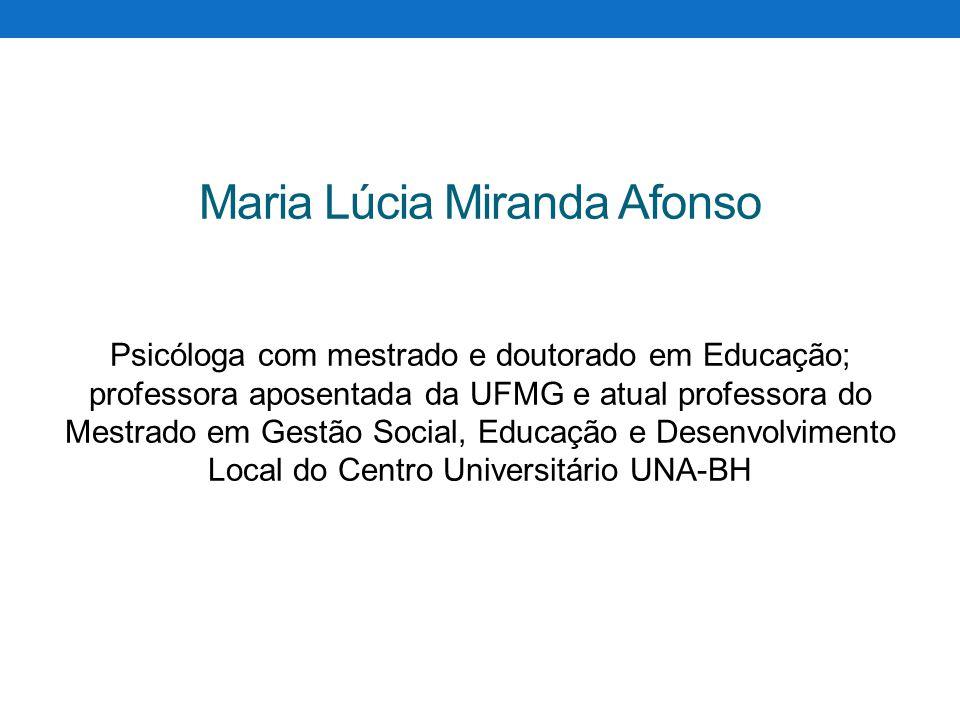 Maria Lúcia Miranda Afonso
