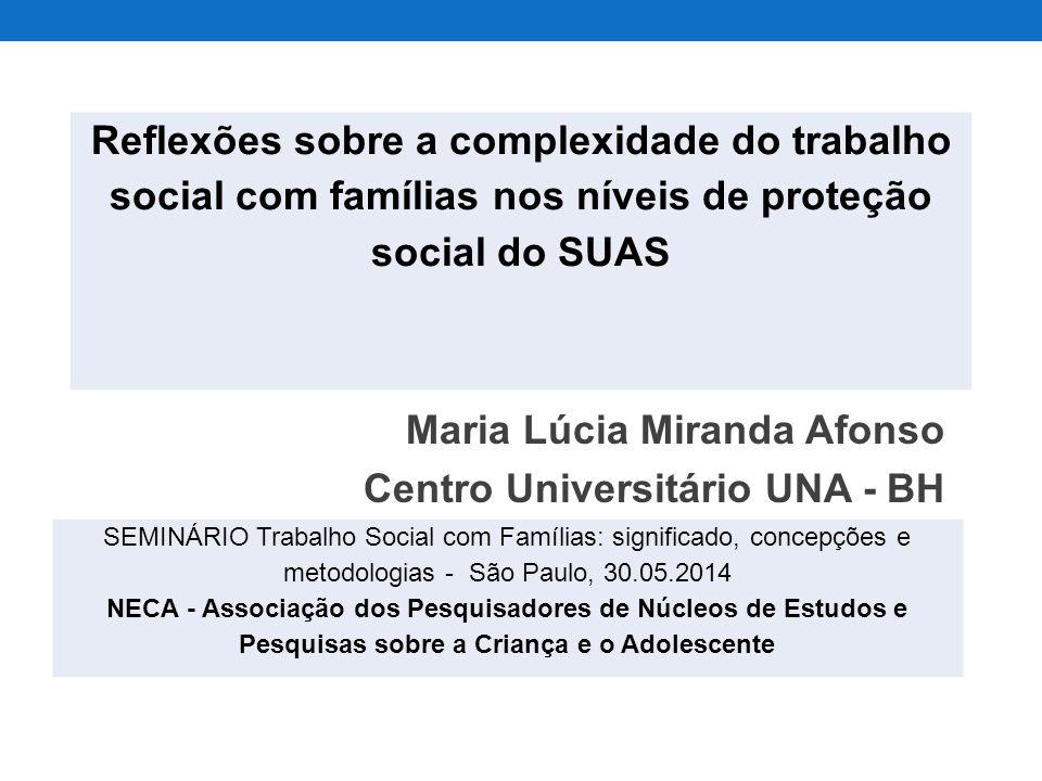 Maria Lúcia Miranda Afonso Centro Universitário UNA - BH