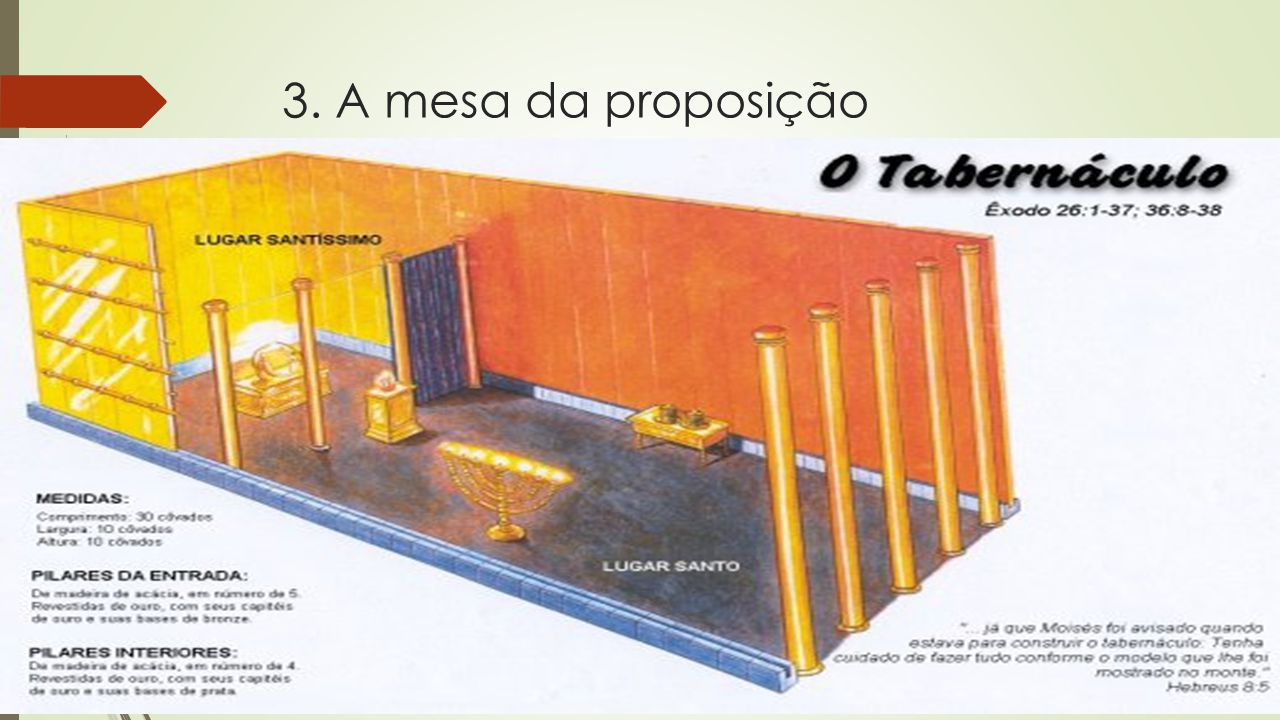 3. A mesa da proposição