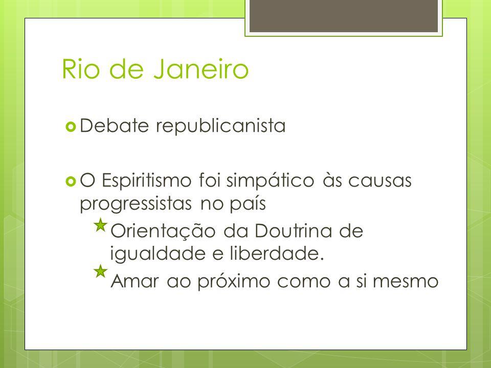 Rio de Janeiro Debate republicanista