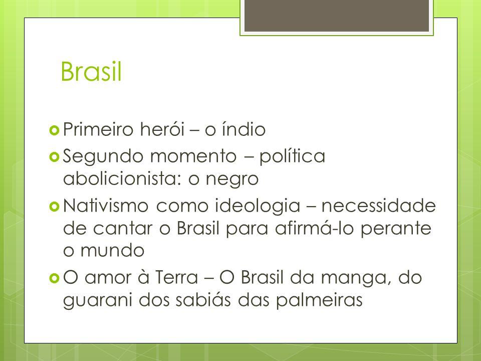 Brasil Primeiro herói – o índio