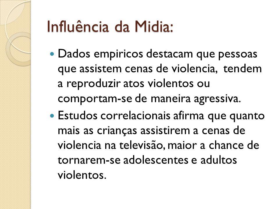 Influência da Midia: