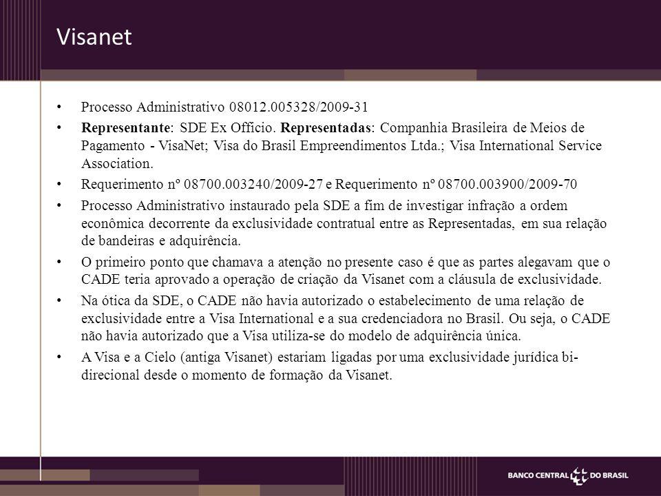 Visanet Processo Administrativo 08012.005328/2009-31