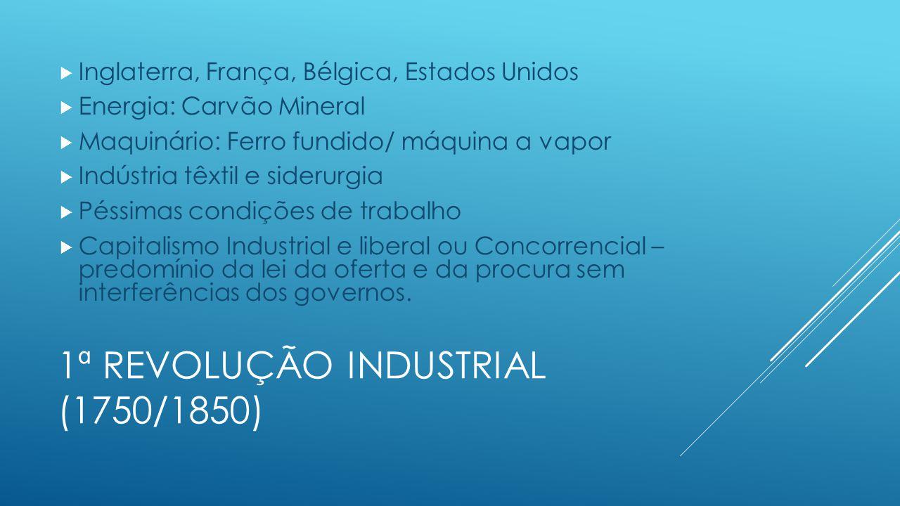1ª Revolução Industrial (1750/1850)