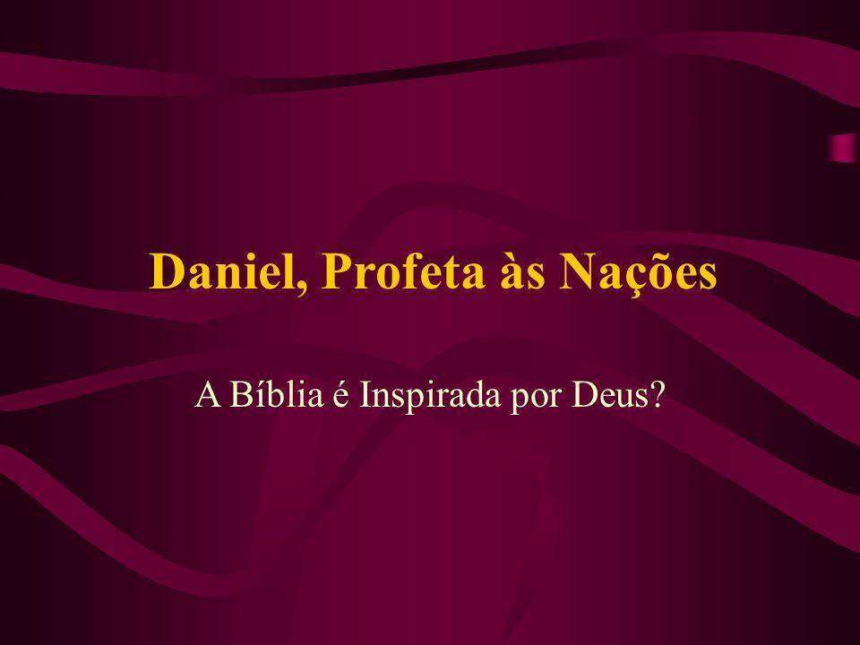 Daniel, Profeta às Nações