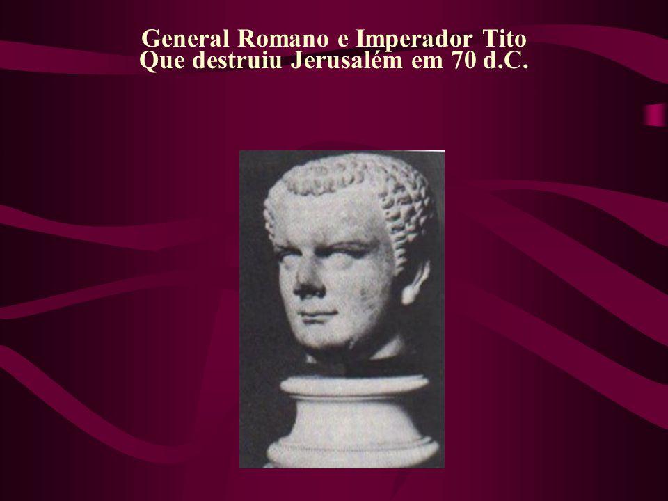 General Romano e Imperador Tito