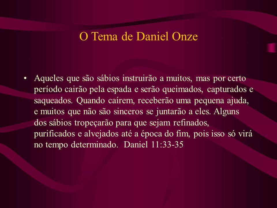 O Tema de Daniel Onze