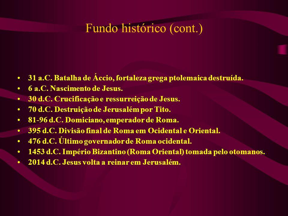 Fundo histórico (cont.)