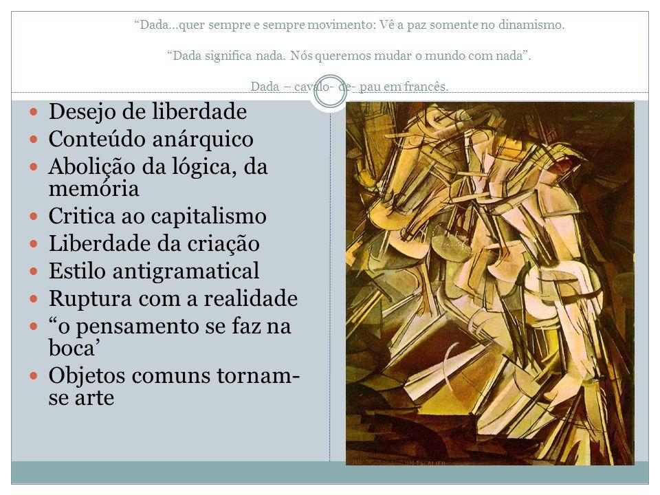 Abolição da lógica, da memória Critica ao capitalismo